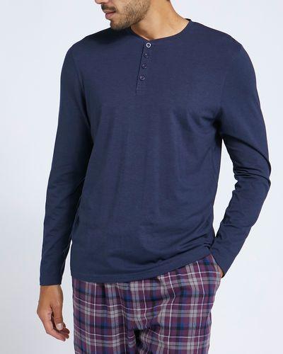 Cotton Modal Long-Sleeved Pyjama Top