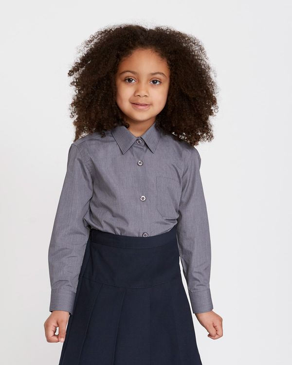Easy-Care Long-Sleeved Blouse - Pack Of 2