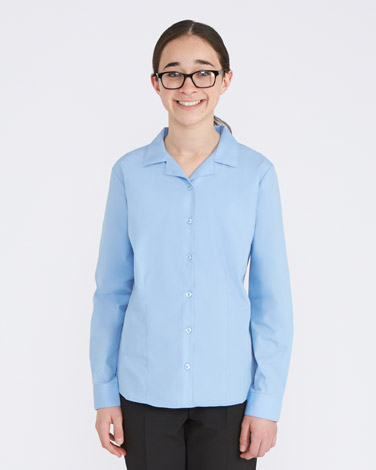 Long-Sleeved Revere Blouse - Pack Of 2
