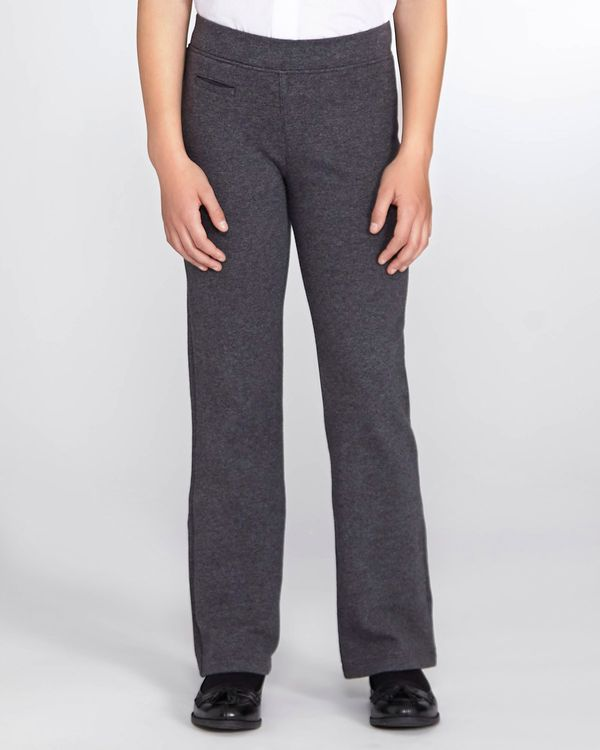 Girls Cotton Rich Knitted Trousers