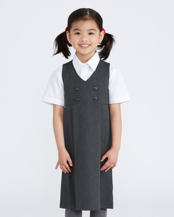 Double Breasted Pinafore
