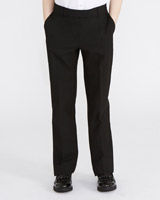 black Girls Slim Leg Trousers