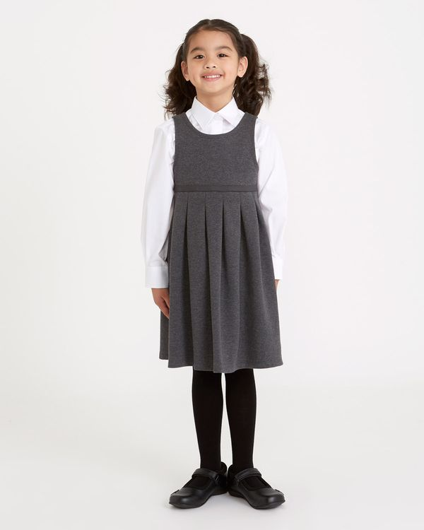 Cotton Rich Knitted Pinafore