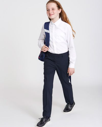 Girls Stretch Slim Fit Trousers thumbnail