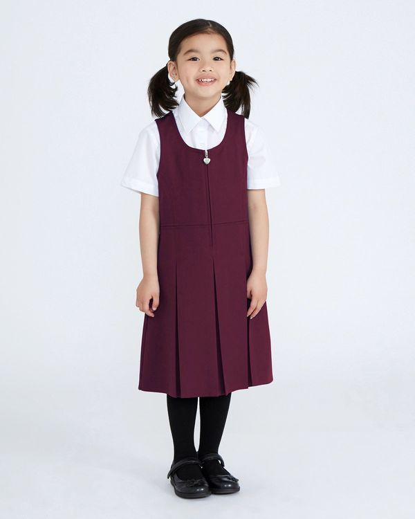 Pleated Pinafore