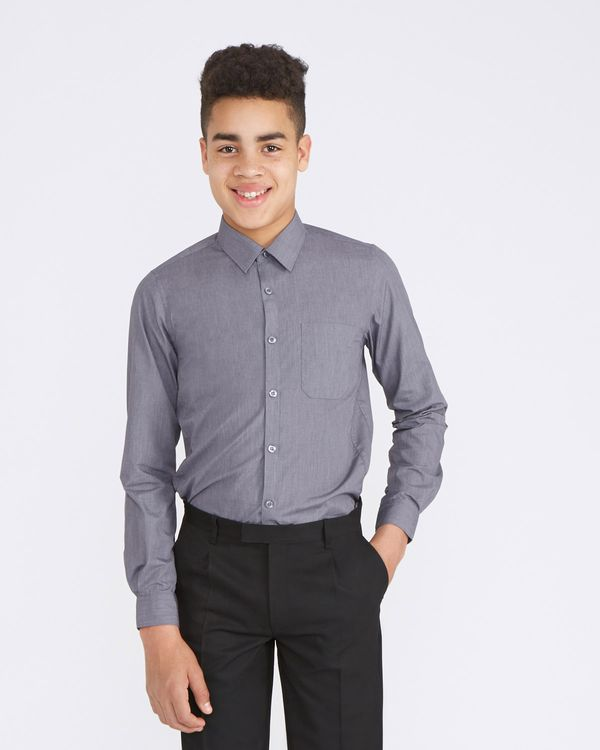 Ultimate Slim Fit Non-Iron Long Sleeved Shirt - Pack Of 2
