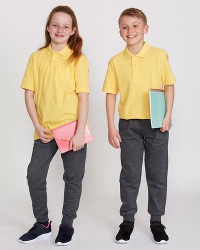 Unisex Pure Organic Cotton Short-Sleeved Polo Shirts - Pack Of 2 thumbnail