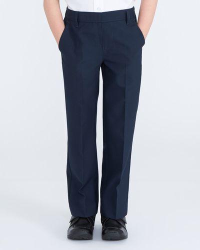 Boys Flat Front Trousers thumbnail