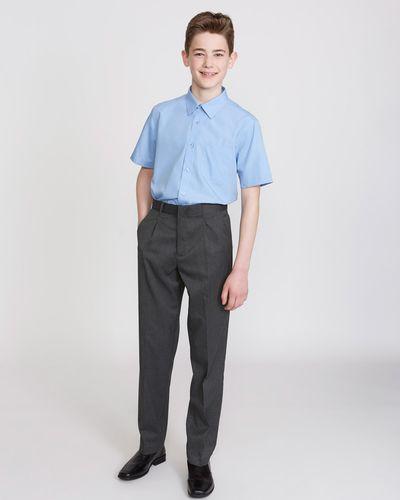 Boys Stretch Regular Leg Trousers