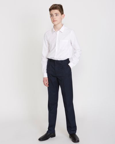 Boys Stretch Regular Leg Trousers