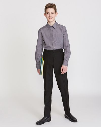 Boys Slim Leg Trousers
