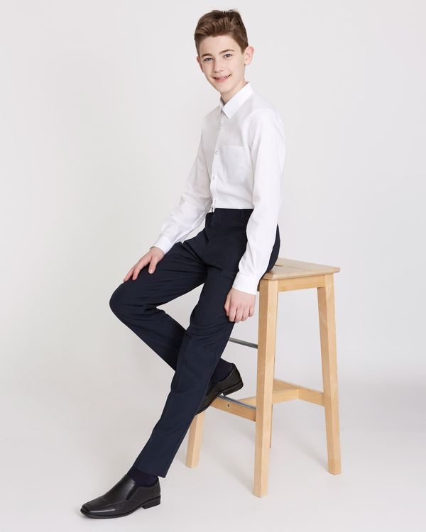 4a9c80041f61 Dunnes Stores | Navy Boys Slim Leg Trousers
