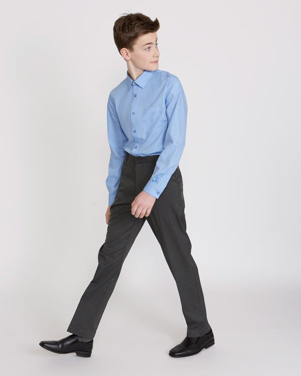Boys Stretch Slim Leg Trousers