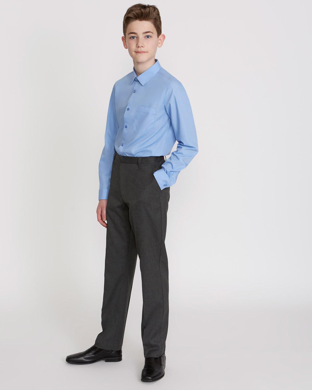1b4feee2af Boys Stretch Slim Leg Trousers