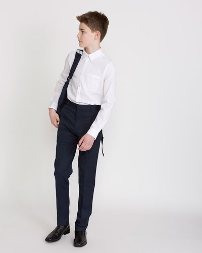 Boys Stretch Skinny Leg Trousers