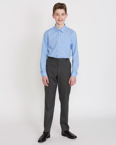 Boys Stretch Slim Leg Longer Length Trousers thumbnail
