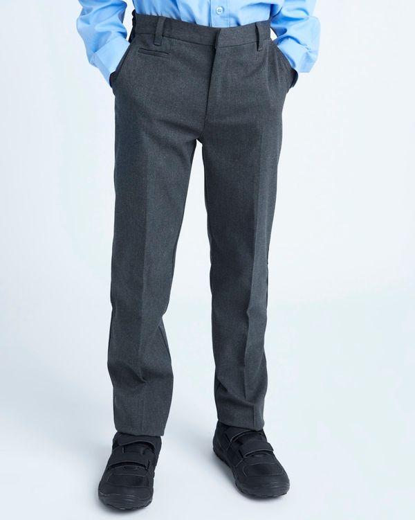 Boys Stretch Slim Leg Trousers