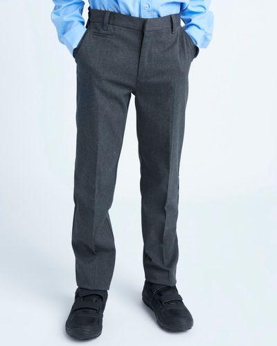 Longer Leg Stretch Regular Leg Trouser