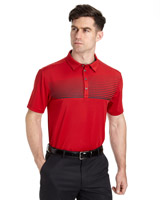 red Pádraig Harrington Regular Fit Graphic Print Polo (SPF 50)