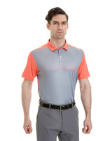 orange Pádraig Harrington Graphic Polo (SPF 50)