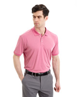 pink Pádraig Harrington Birdseye Polo (UPF 50)