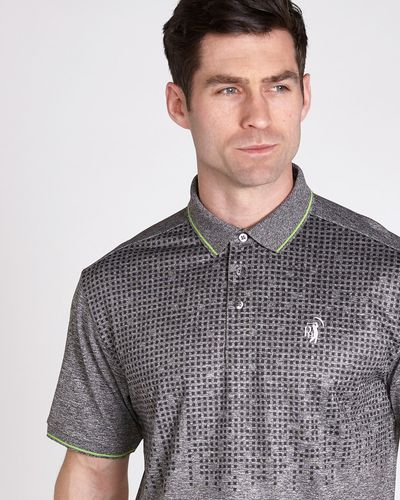 Pádraig Harrington Print Marl Polo (UPF 50)
