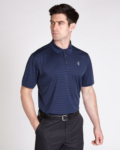 Pádraig Harrington Jacquard Stripe Polo (UPF 50)