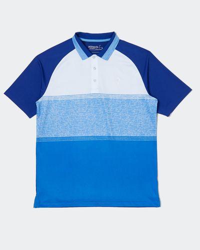 Pádraig Harrington Blue Body Block Polo (UPF 50)