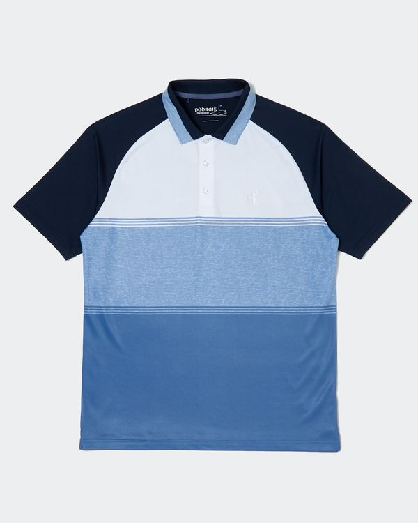 Pádraig Harrington Navy Body Block Polo (UPF 50)