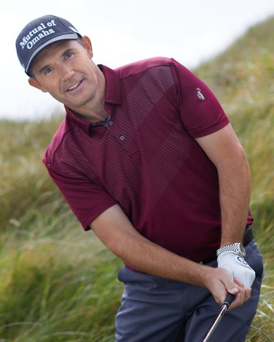 Pádraig Harrington Wine Contour Polo (UPF 50)