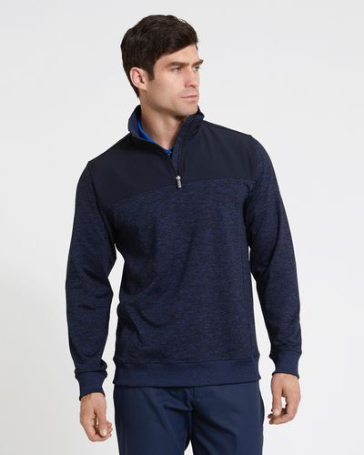 Pádraig Harrington Charcoal Quarter Zip Fleece