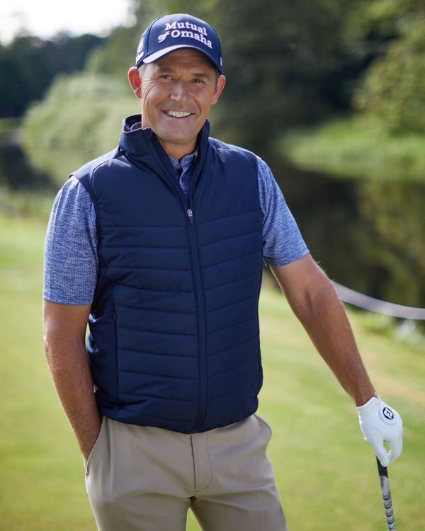 Pádraig Harrington Navy Heatseeker Gilet