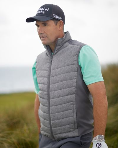 Pádraig Harrington Charcoal Heatseeker Gilet