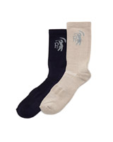 navy Pádraig Harrington Comfort Golf Socks - Pack Of 2