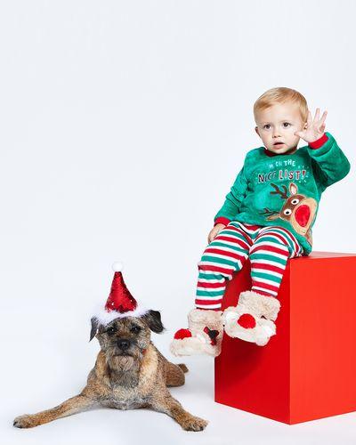 Christmas Fluffy Pyjamas