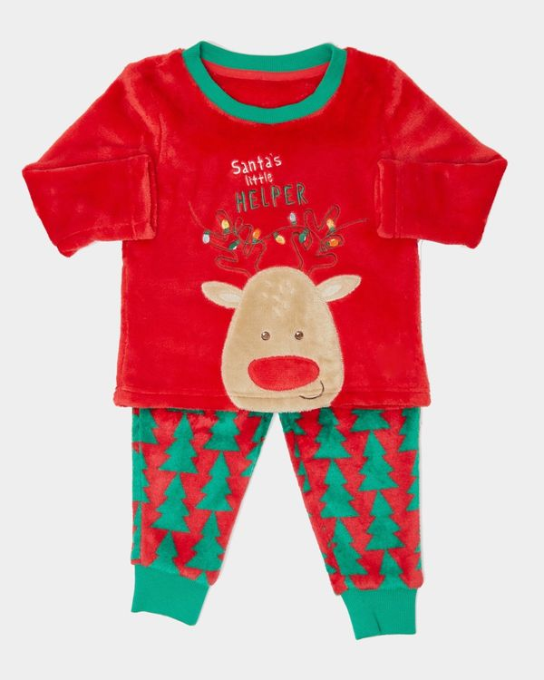 Baby Christmas Fluffy Pyjamas (6 months-4 years)
