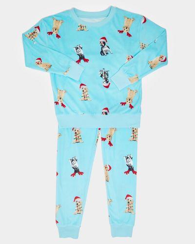Christmas Minky Fleece Pyjamas (2-14 years)
