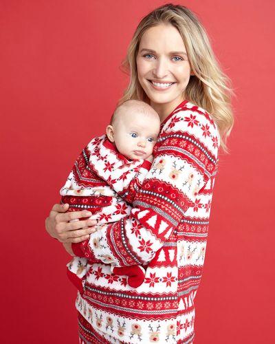 Christmas Family Fair Isle Sleepsuit (Newborn-18 months)
