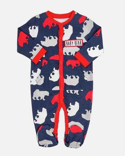 Bear Sleepsuit (Newborn-18 months)