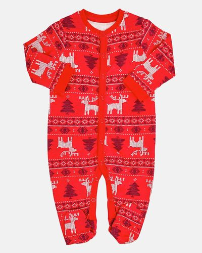 Christmas Family Fair Isle Sleepsuit (Newborn-18 months)