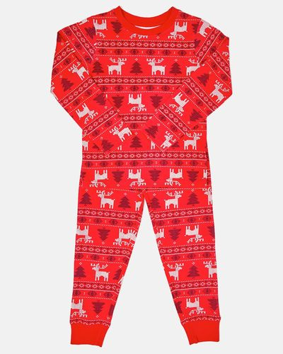 Christmas Family Fairisle Pyjamas (12 months-14 years)