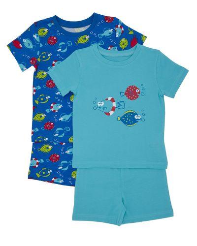 Short Pyjama Set - Pack Of 2 (6 months-4 years) thumbnail