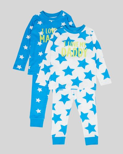 Baby Boys Pyjamas - Pack Of 2 (6 months-4 years) thumbnail