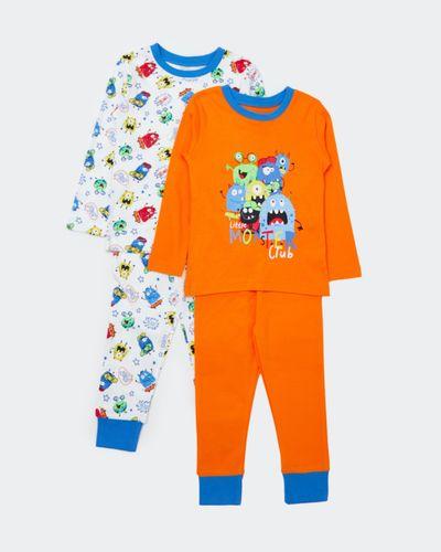 Baby Boys Pyjamas - Pack Of 2 thumbnail