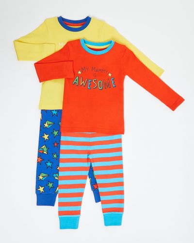 Baby Boys Pyjamas - Pack Of 2 (6 months - 4 years) thumbnail