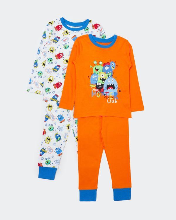 Baby Boys Pyjamas - Pack Of 2