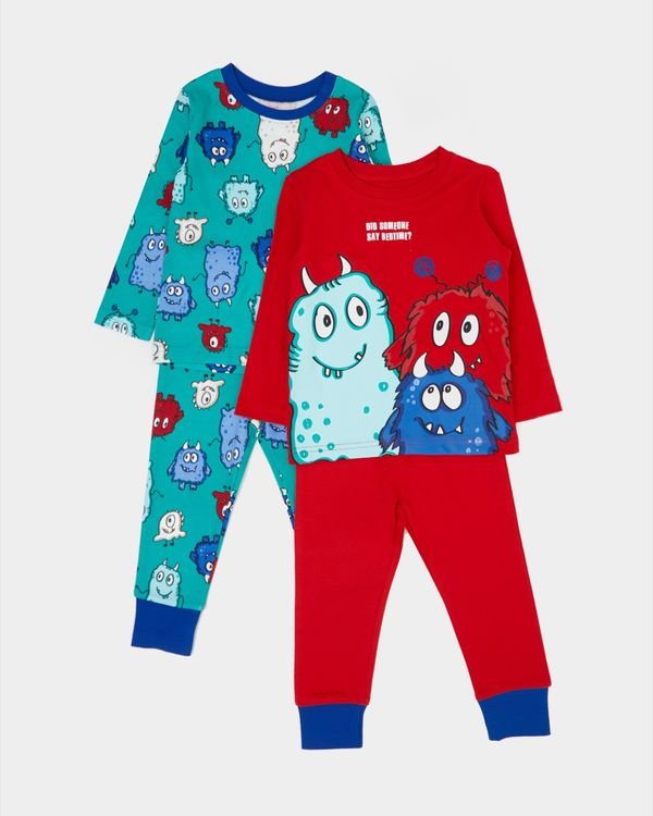 Baby Boys Pyjamas - Pack Of 2 (6 months-4 years)