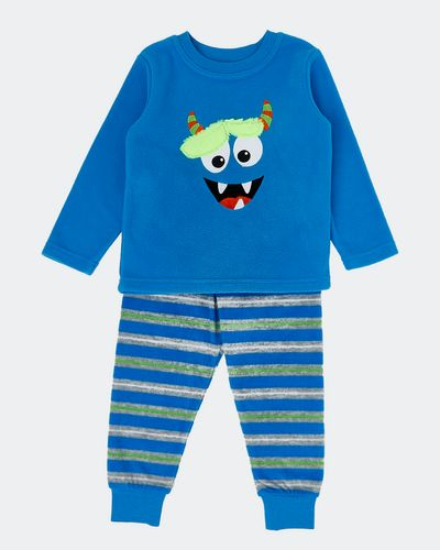 Baby Boys Fleece Pyjamas (6 months-4 years) thumbnail