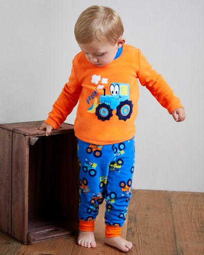 Baby Boys Fleece Pyjamas (6 months-4 years) thumbnail