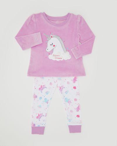 Unicorn Velour Pyjamas